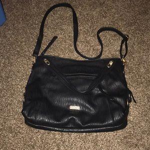 Jessica Simpson black and gold bag